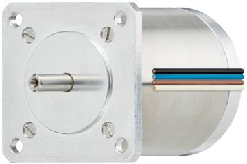 drylin® E special stepper motor with strands, vacuum, NEMA 23