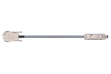 readycable® encoder cable suitable for Festo KDI-MC-M8-SUB-9-xxx, base cable PUR 10 x d