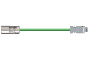 readycable® encoder cable suitable for Omron R88A-CRWA-xxxC-DE, base cable TPE 7.5 x d
