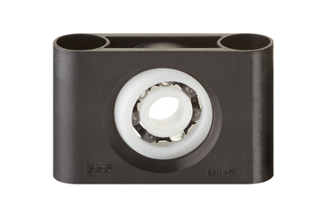 xiros® pillow block bearings, ESTM, self-adjusting, glass balls, mm