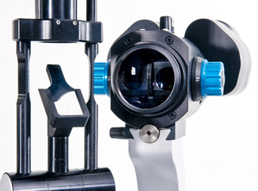 Microscope arm with bearings made of iglidur® bar stock